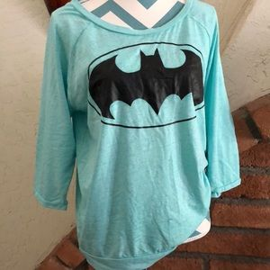 Batman 3/4 sleeve top